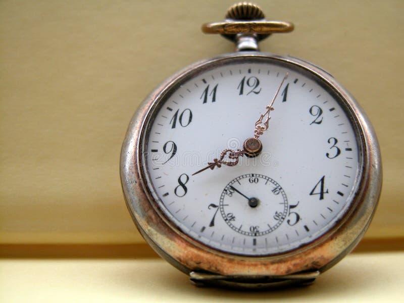 Reloj de bolsillo imagen de archivo libre de regalías