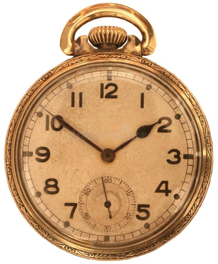 Reloj de bolsillo antiguo foto de archivo libre de regalías