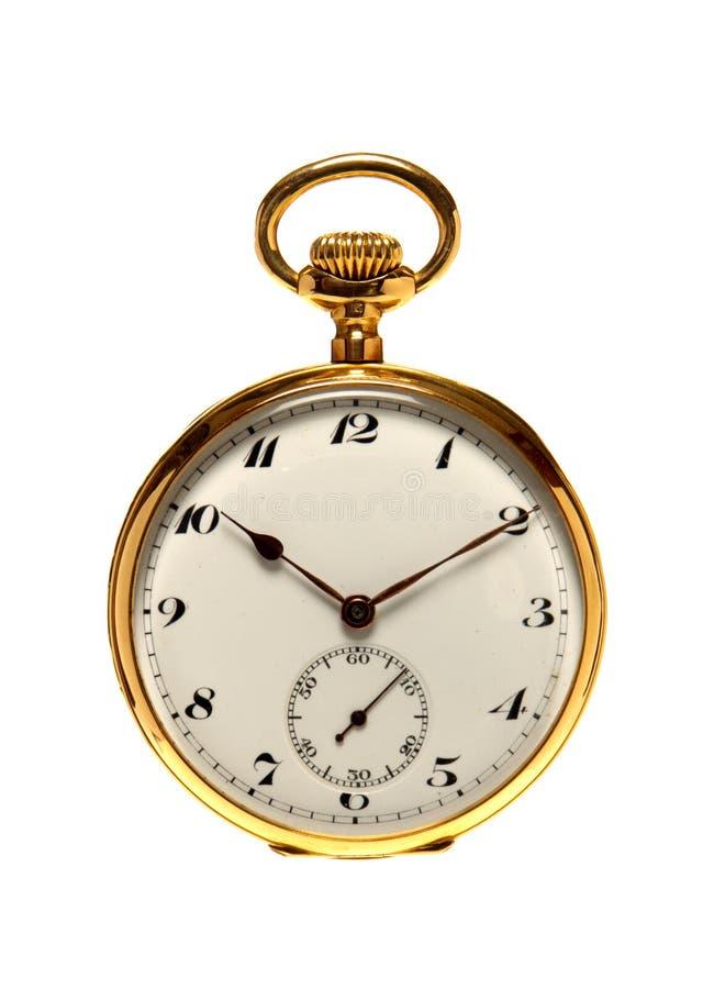 Reloj de bolsillo antiguo fotos de archivo