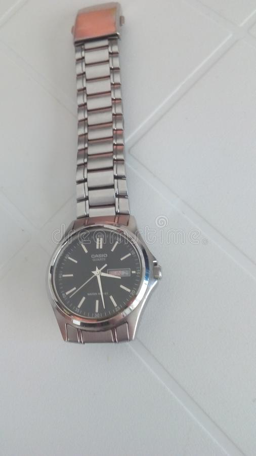 Reloj de Casio foto de archivo