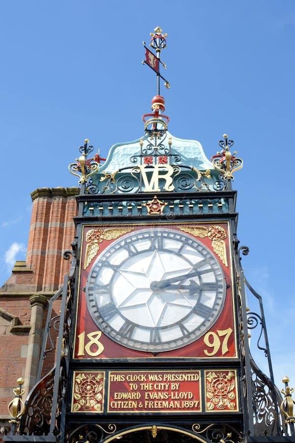 Reloj de Chester fotos de archivo libres de regalías