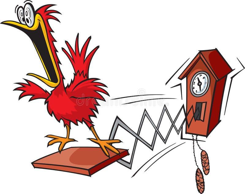 Reloj de cuco libre illustration