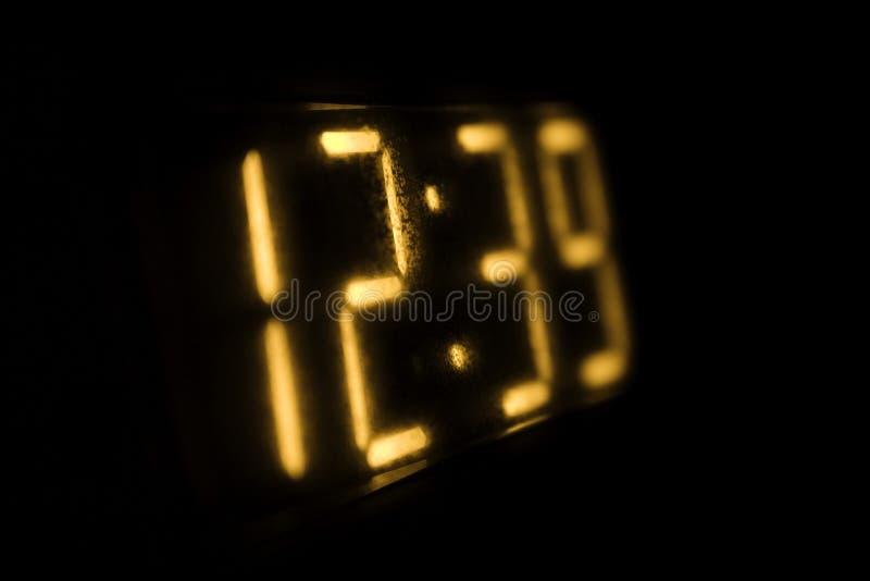Reloj de Digitaces imágenes de archivo libres de regalías
