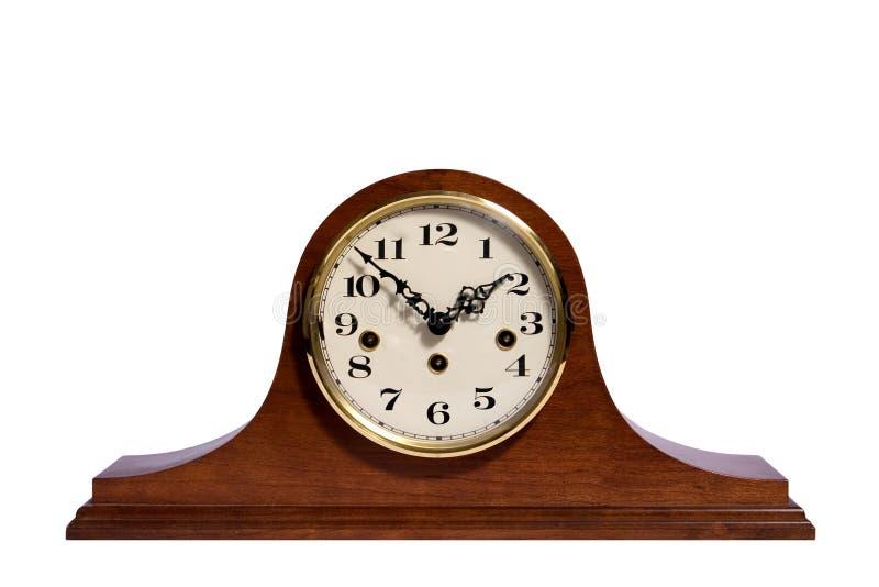 Reloj de la chimenea foto de archivo libre de regalías