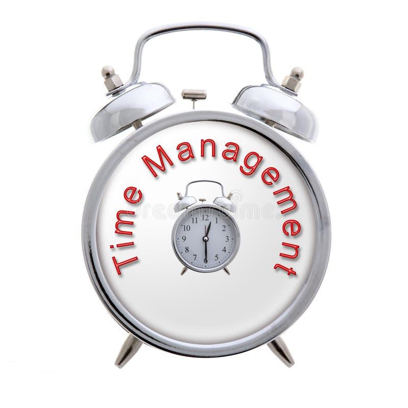 Reloj de la gestión de tiempo imagen de archivo libre de regalías