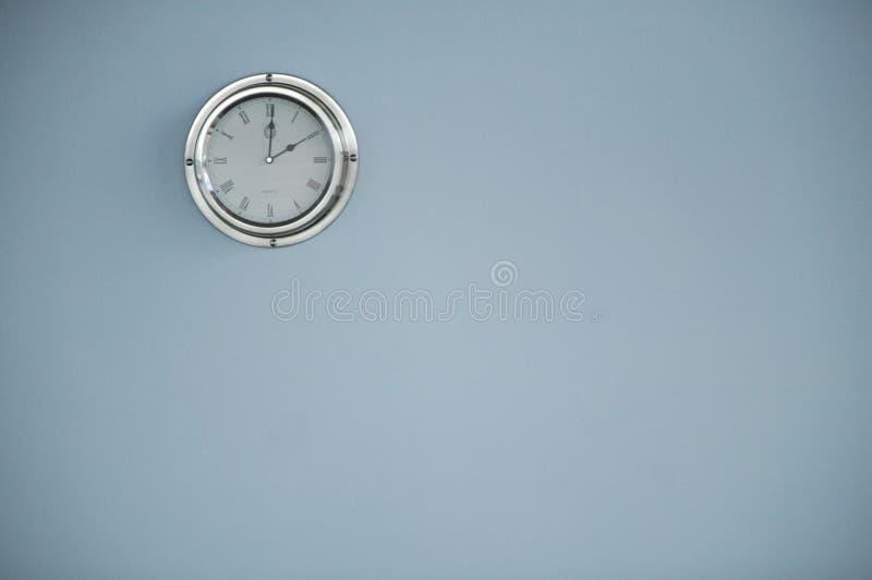 Reloj de la oficina imagen de archivo libre de regalías