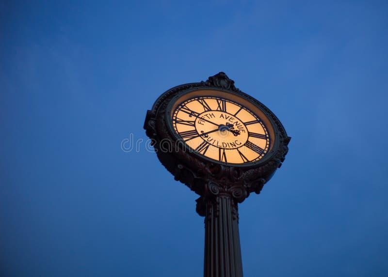 Reloj de la plancha imágenes de archivo libres de regalías