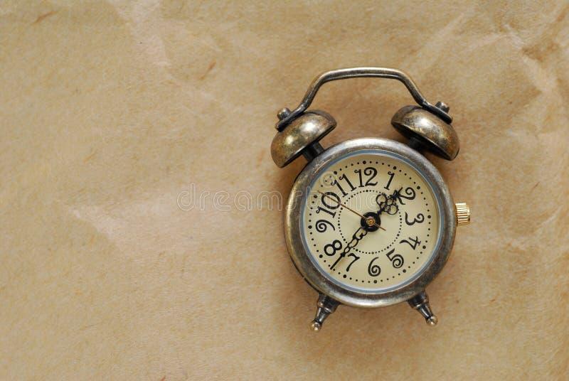 Reloj de la vendimia fotografía de archivo