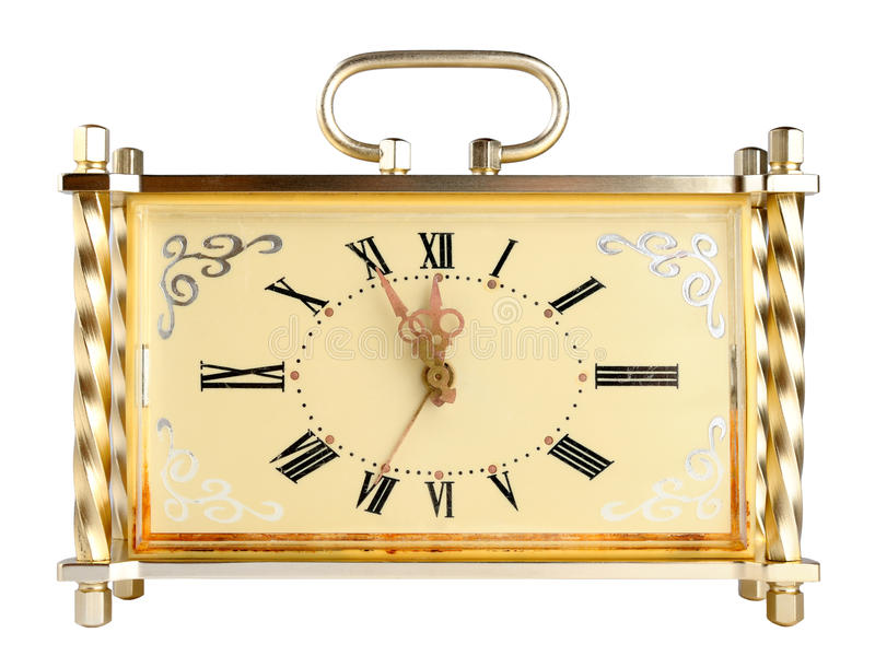 Reloj de la vendimia imágenes de archivo libres de regalías