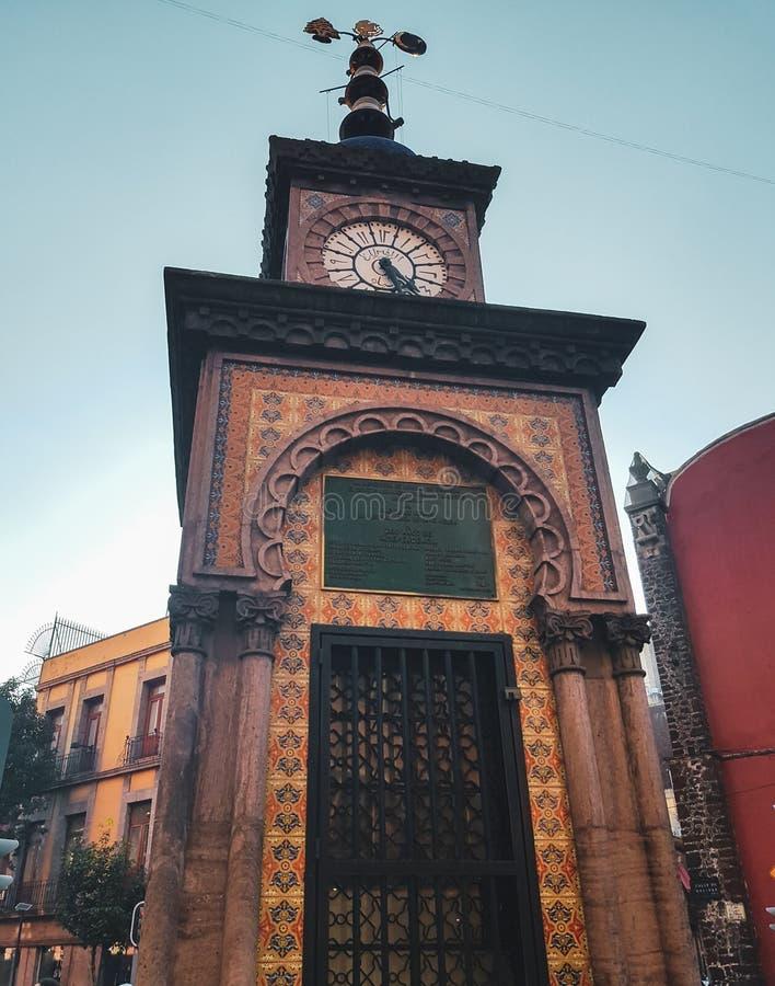 Reloj de Ottoman en Ciudad de México, México imágenes de archivo libres de regalías