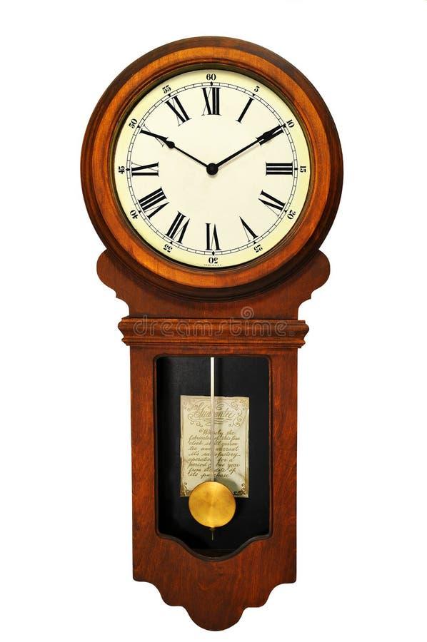 Reloj de pared antiguo imagenes de archivo