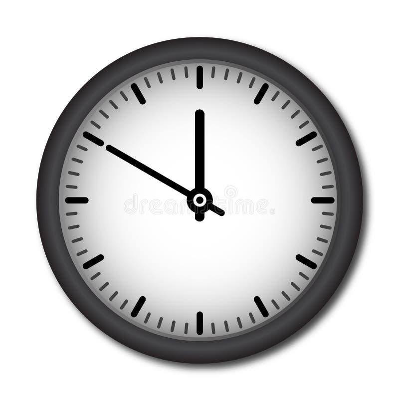Reloj de pared del vector libre illustration