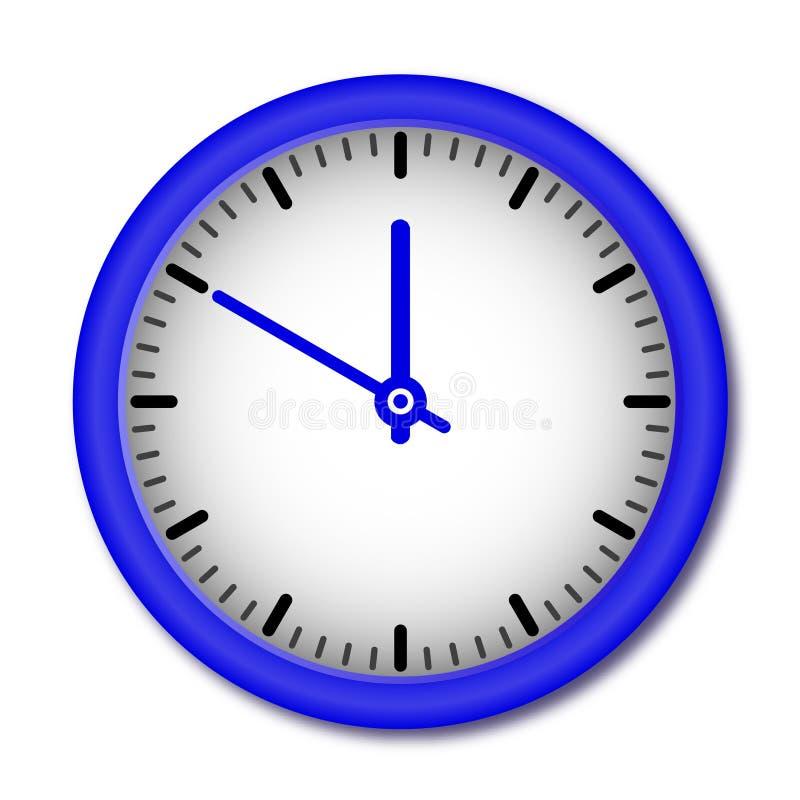 Reloj de pared del vector ilustración del vector