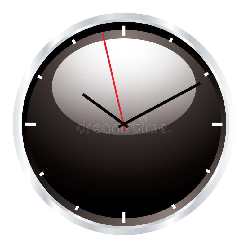 Reloj de pared moderno ilustración del vector