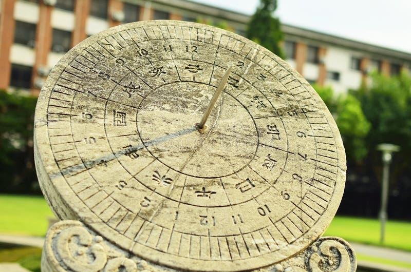 Reloj de sol fotos de archivo