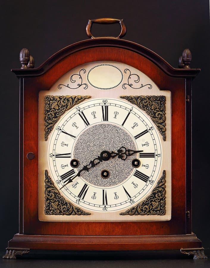 Reloj de vector viejo fotos de archivo