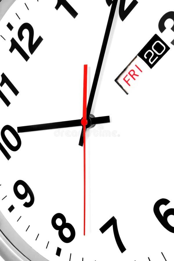 Reloj del asunto imagenes de archivo