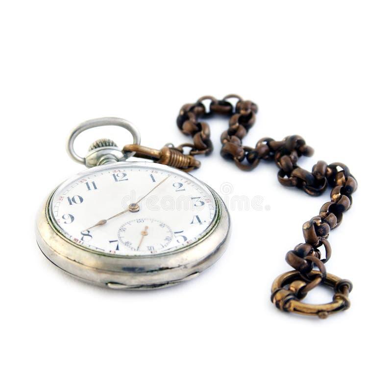 Reloj del bolsillo imagen de archivo libre de regalías