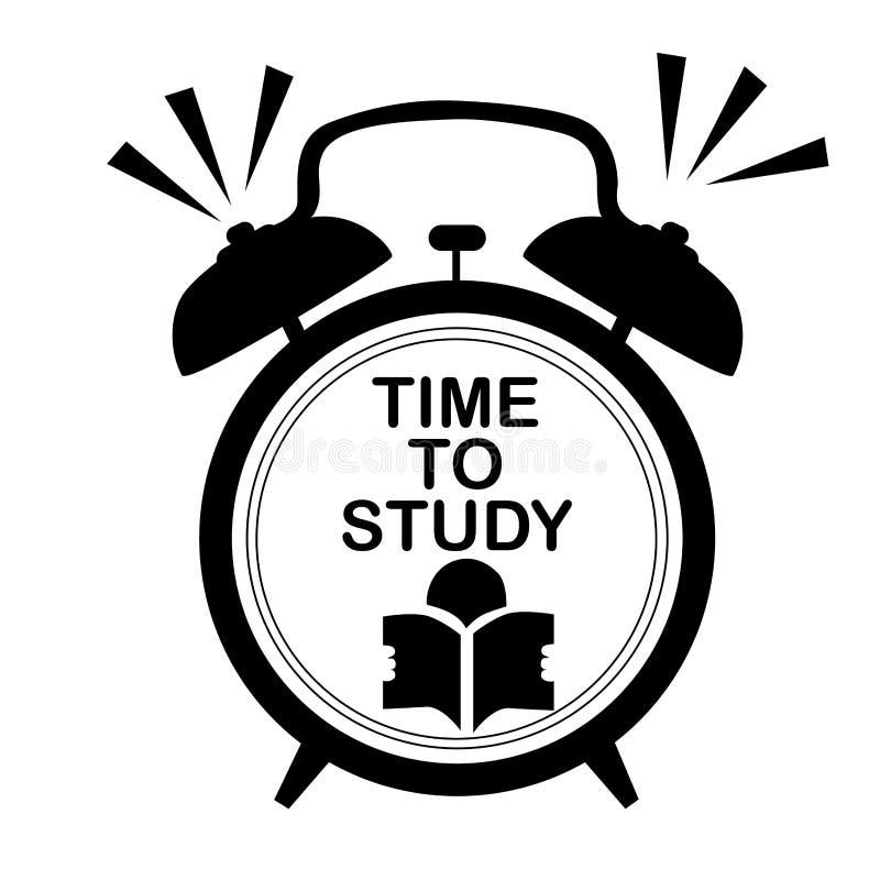 Reloj del estudio ilustración del vector