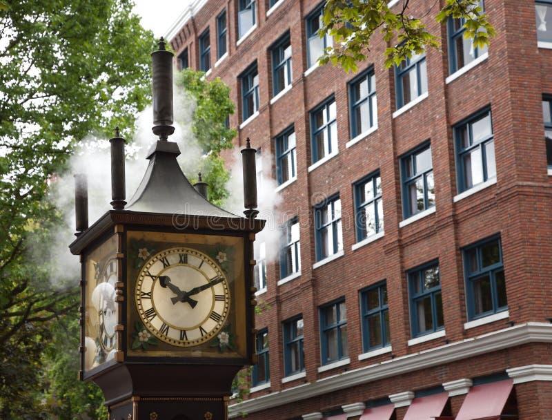 Reloj del vapor fotografía de archivo