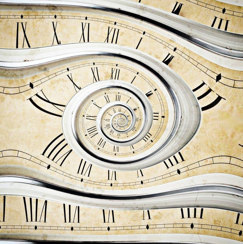 Reloj del vintage fotografía de archivo