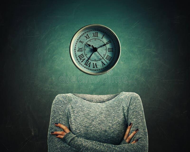 Reloj dirigido stock de ilustración
