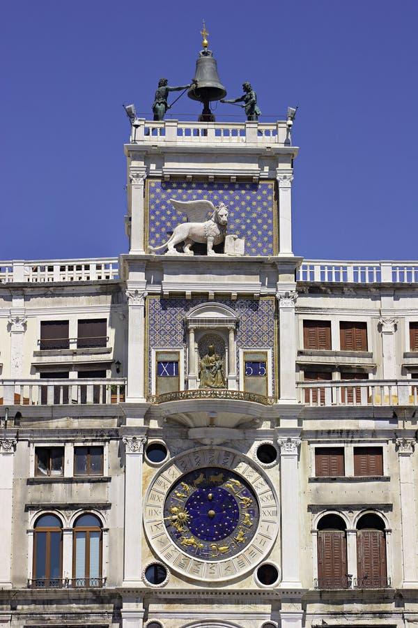Reloj en Venecia. fotografía de archivo