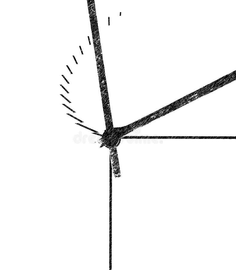 Reloj estilizado imagenes de archivo