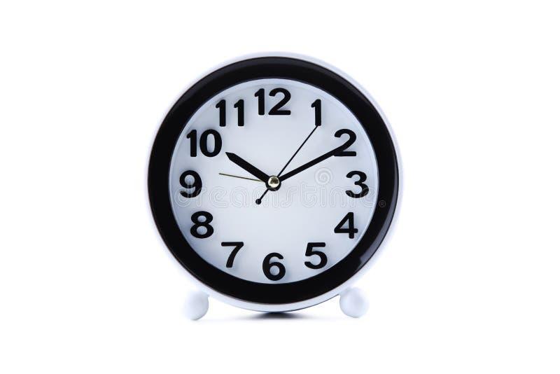 Reloj negro fotografía de archivo libre de regalías