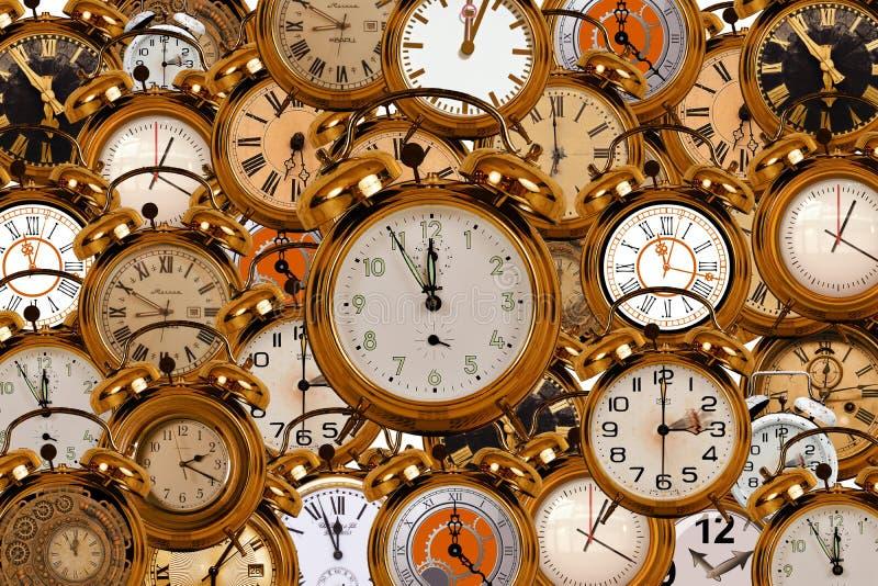 Reloj, reloj, accesorios caseros, metal