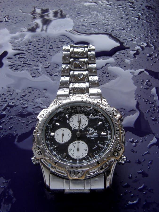 Reloj resistente de agua fotos de archivo libres de regalías