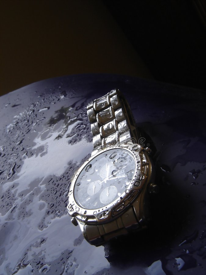 Reloj resistente de agua imágenes de archivo libres de regalías