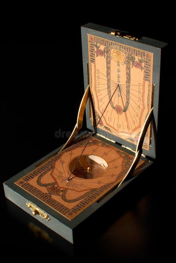 Reloj solar fotografía de archivo