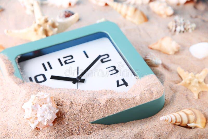Reloj verde fotografía de archivo