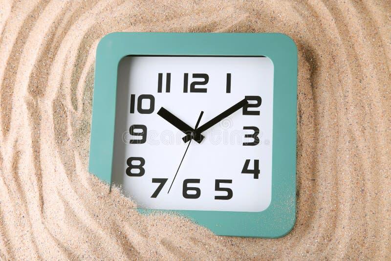 Reloj verde fotos de archivo