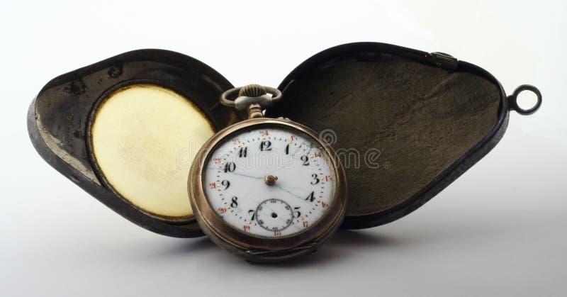 Reloj viejo imágenes de archivo libres de regalías