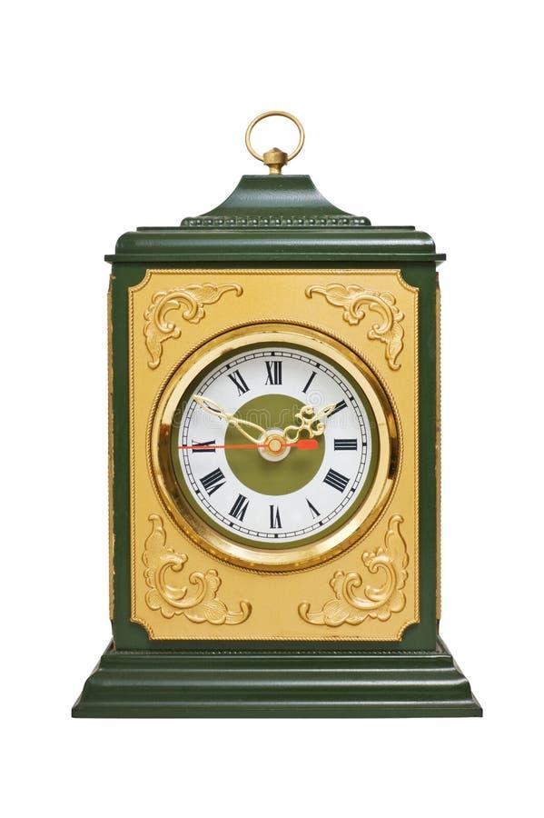 Reloj viejo de la capa imágenes de archivo libres de regalías