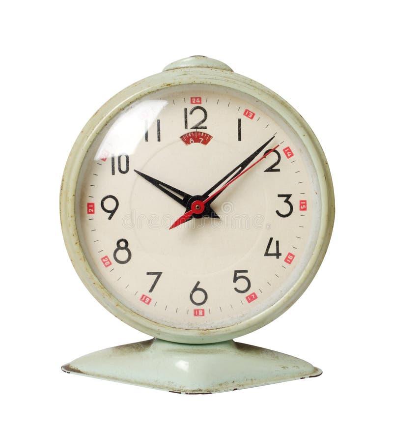 Reloj viejo del aAlarm fotografía de archivo