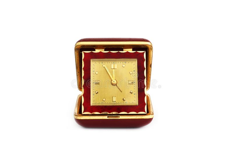 Reloj viejo del camino Reloj retro imágenes de archivo libres de regalías