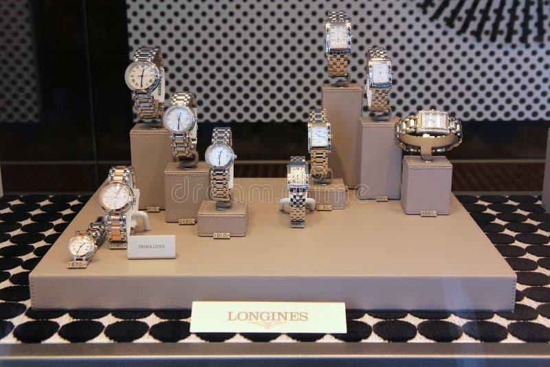 Relojes de Longines fotos de archivo