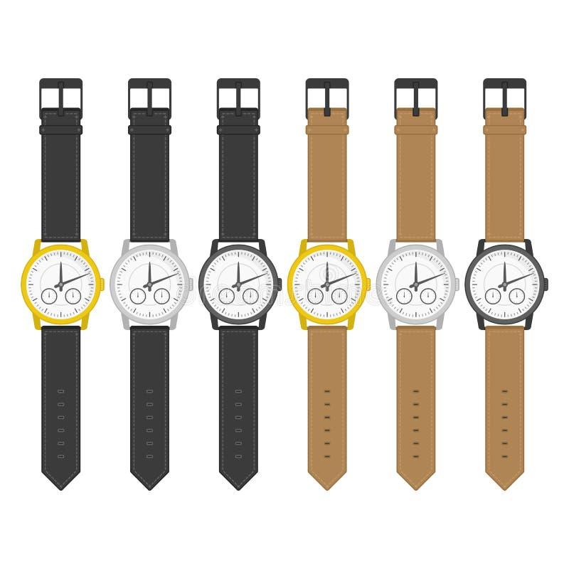 Relojes en diseño clásico libre illustration