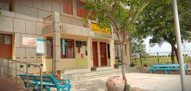 relwey van Gujarat stock foto