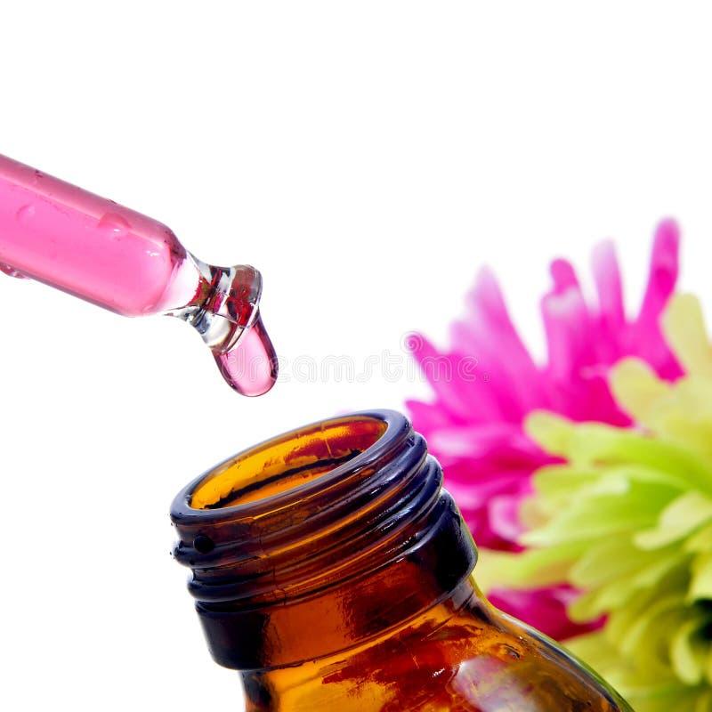 Remédios da flor de Bach imagem de stock