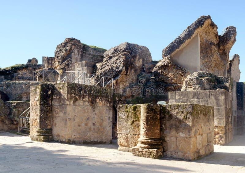 Remains Av Den Romerska Civilisationen Fotografering för Bildbyråer