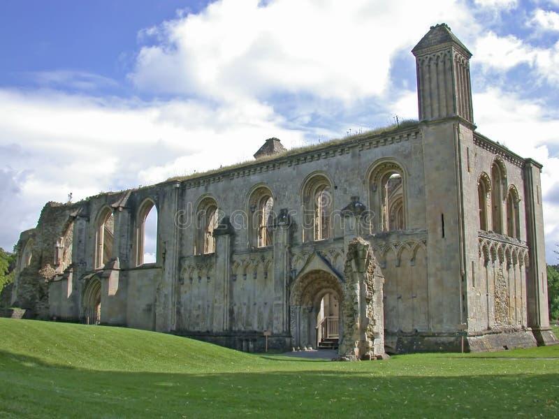 Remains da abadia inglesa foto de stock royalty free
