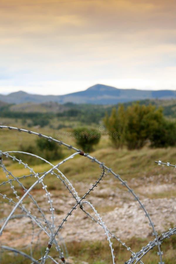 Download Remains della guerra fotografia stock. Immagine di cespuglio - 207326