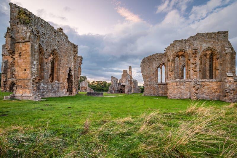 Egglestone Abbey Historic Monument royalty free stock images