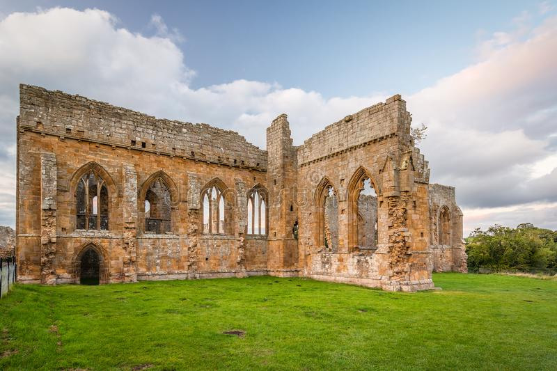 Gothic Arches of Egglestone Abbey royalty free stock photography