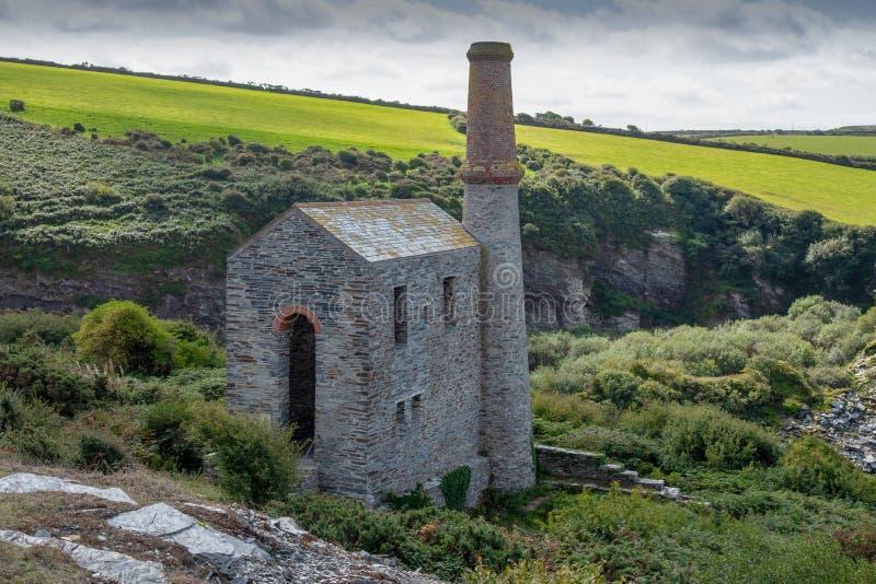 Cornish engine house stock photos