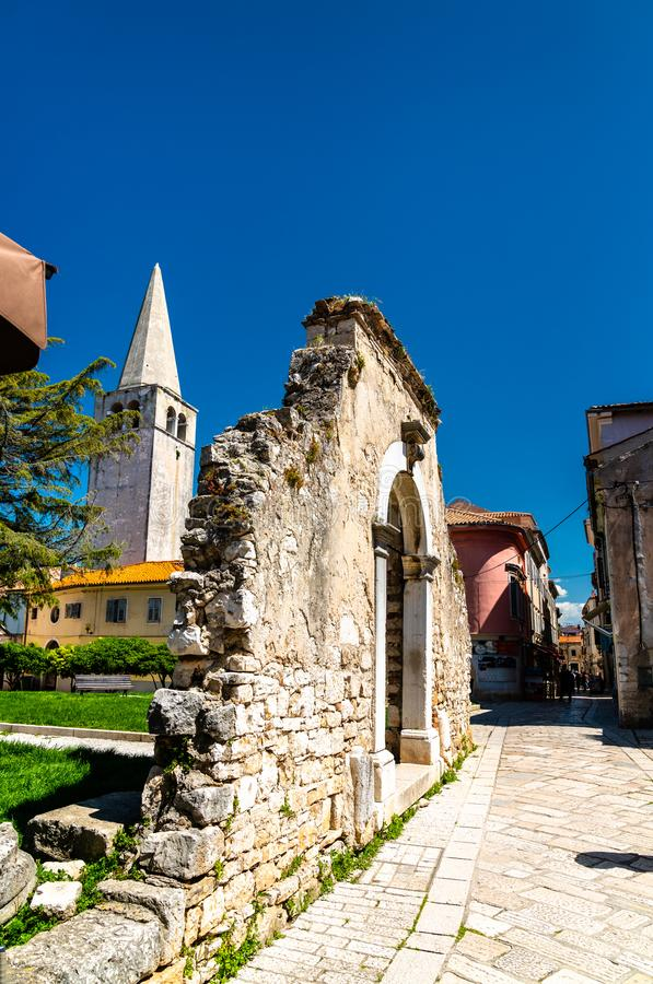 Free Remains Of A Defensive Wall In Porec, Croatia Royalty Free Stock Photography - 155097857
